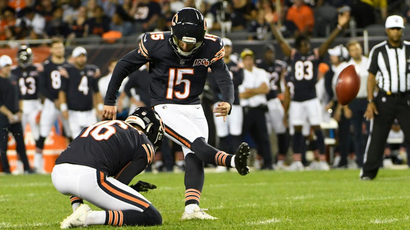 Illustration of the article Last Man Standing In Bears & # 39; Comprehensive Kicker Competition Provides One Extra Point to Timbuktu