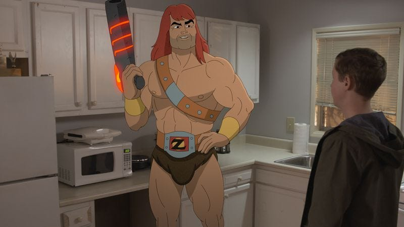 Illustration for article titled Pairing Zorn with Alan makes for a tedious Son Of Zorn weekend