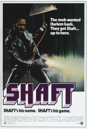Promotional image of the 1971 movieShaftWikimedia Commons