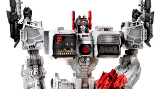Illustration for article titled Two Foot Tall Metroplex Makes My Transformers Dreams Come True This Fall
