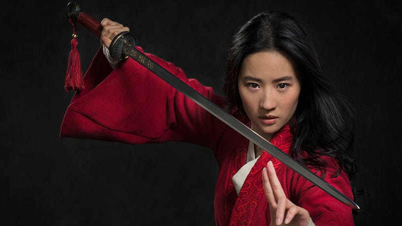 Illustration for article titled Here'sLiu Yifei As Mulan