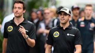Illustration for article titled Renault CEO Ghosn suggests Maldonado, Palmer contracts in doubt