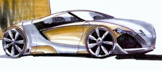Illustration for article titled Supercar Neutrality: The Weber Sportscars Supercar