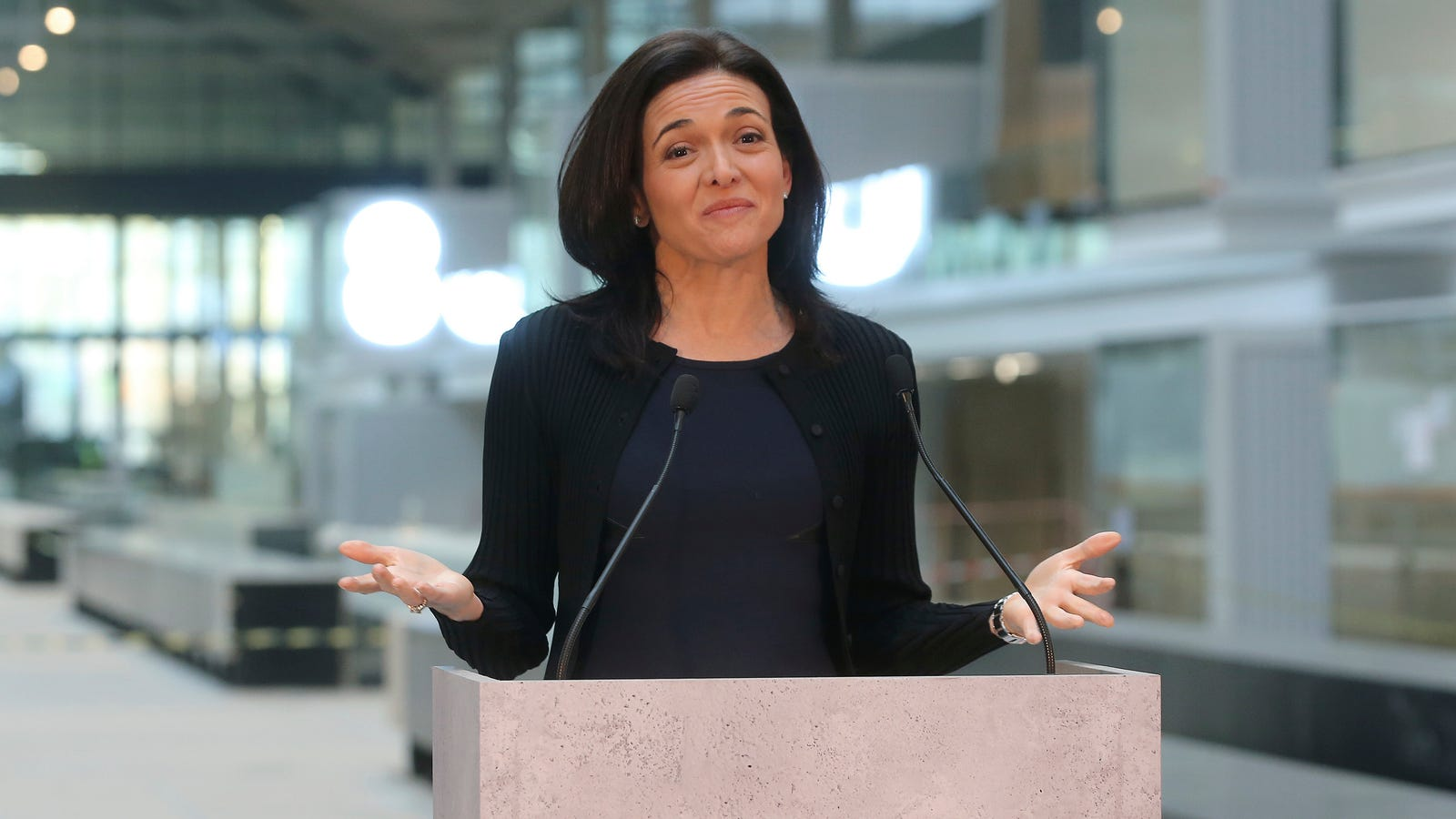 QnA VBage Sheryl Sandberg: The Teens 'Consented' to Putting Facebook Spyware on Their Phones