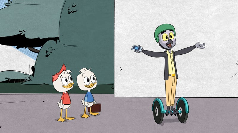 Illustration for article titled DuckTales struggles to adapt Silicon Valley culture into its world