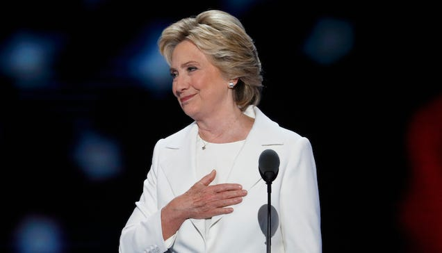 A Woman Has Accepted the Nomination for President
