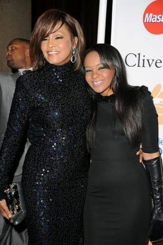Whitney Houston and Bobbi Kristina Brown in 2011Jason Merritt/Getty Images