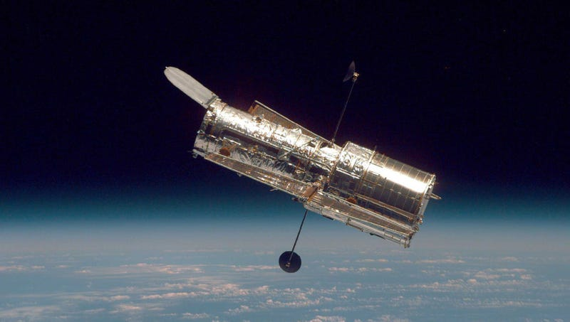 Illustration for article titled Hubble Telescope Desperately Struggling To Contact NASA After Witnessing Murder On Ganymede