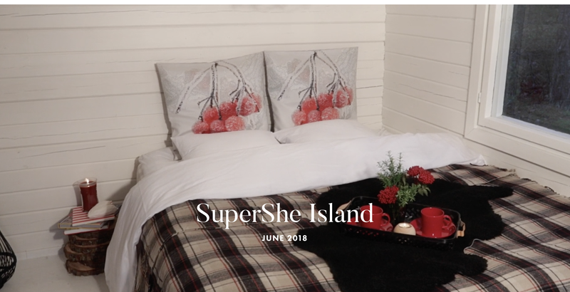This is nice, but we have a better idea. Image: SuperShe Island