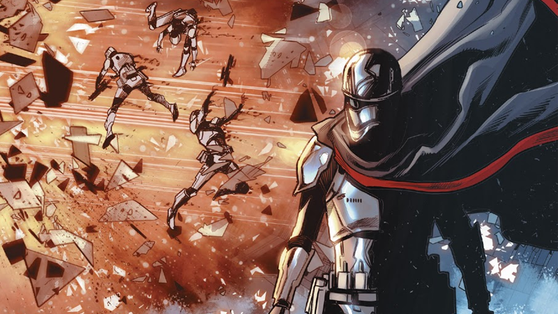 Captain Phasma, ever the sole survivor.