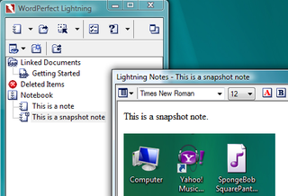 Illustration for article titled Download of the Day: WordPerfect Lightning Beta (Windows)