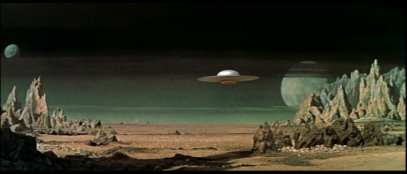 Illustration for article titled All the World's a Soundstage: In Praise of Studio-Bound Alien Worlds