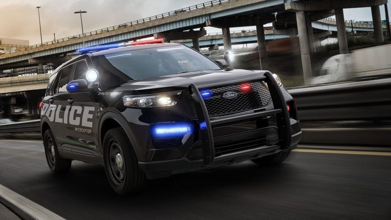 Illustration for article titled 2020 Ford Police Interceptor Utility