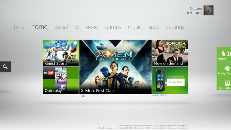 Illustration for article titled With The Coming Dashboard Update, Your Xbox Might Finally Replace Your Cable Box