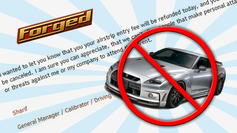 """Illustration for article titled Tuner Behind """"Bad"""" $250,000 Nissan GT-R Bans Critics From Events"""