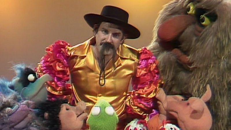 """Illustration for article titled The Muppet Show: """"Episode 223: John Cleese""""/""""Episode 224: Cloris Leachman"""""""