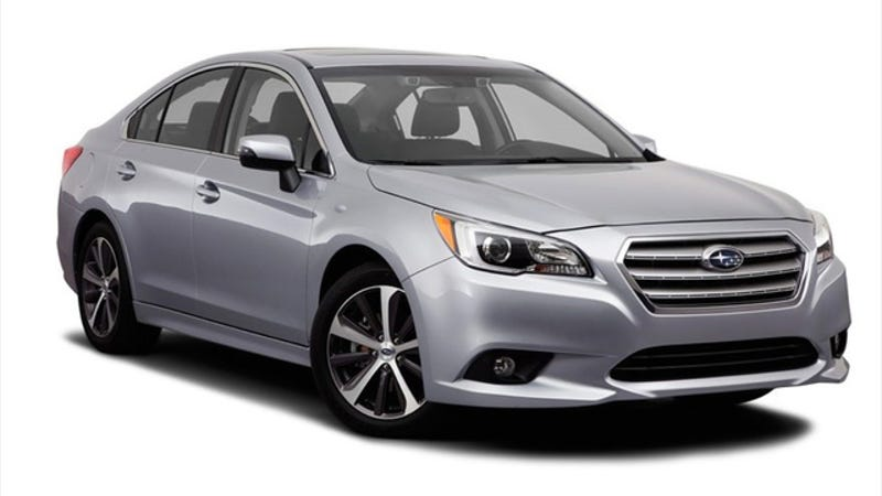 Illustration for article titled 2015 Subaru Legacy: This Is It