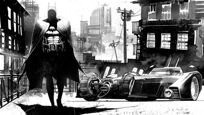 Image Credit: Sean Murphy. DC Comics. Not from Batman: Last Knight.