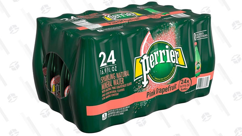 Perrier Pink Grapefruit Flavored Carbonated Mineral Water | $14 | After 30% off coupon