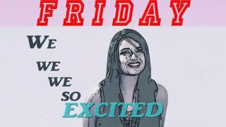 "Illustration for article titled Rebecca Black's ""Friday"" Disappears From YouTube"