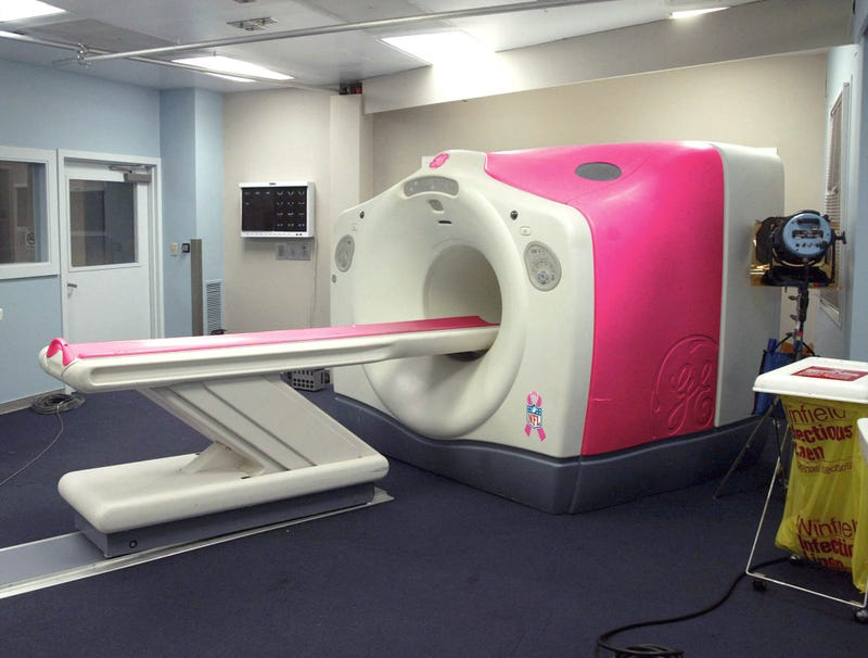 Illustration for article titled NFL Switches To All-Pink MRI Machines For Breast Cancer Awareness Month