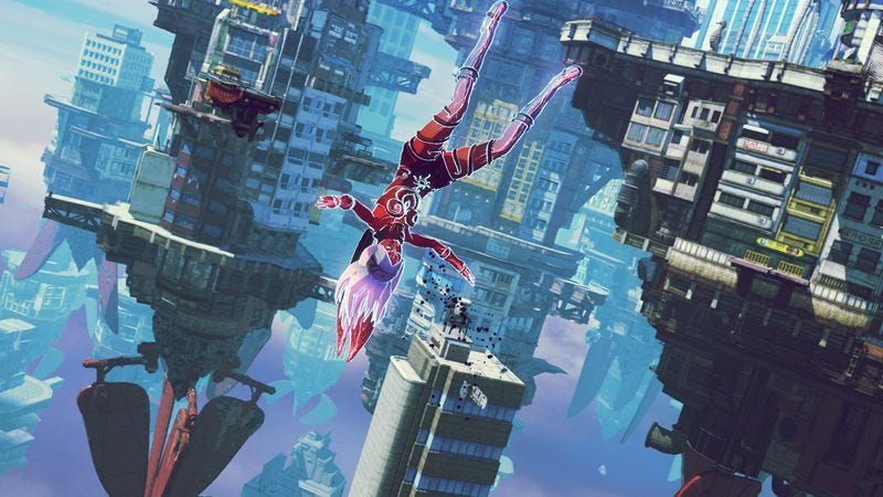 Screenshot: Gravity Rush 2/Sony