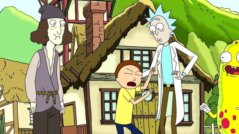 Illustration for article titled Rick And Morty officially renewed for a second season
