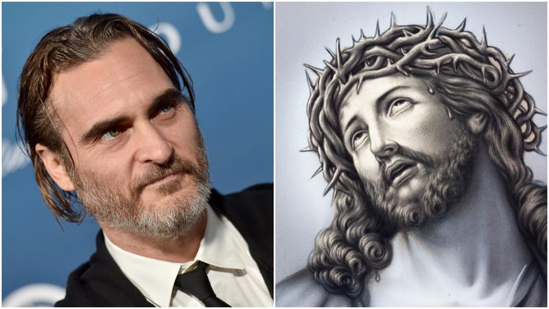 Illustration for article titled Good lord, we totally forgot Joaquin Phoenix was playing Jesus