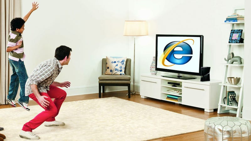 Illustration for article titled Rumor: Kinect-Controlled Web-Browsing Coming to the Xbox 360 with Internet Explorer