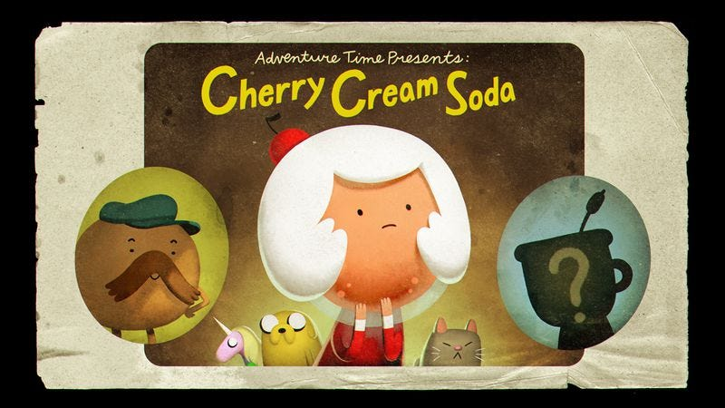 Illustration for article titled Cherry Cream Soda grieves and rebuilds on a touching Adventure Time