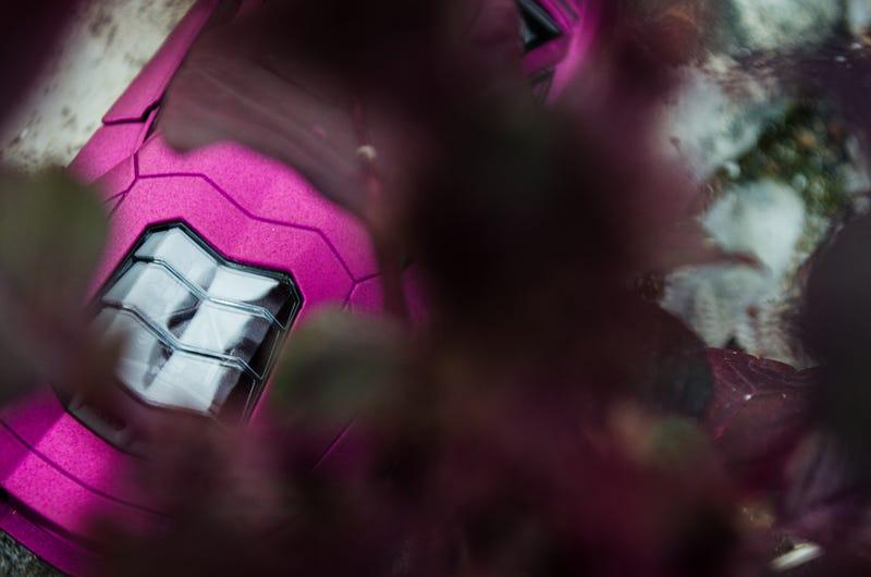 Illustration for article titled LaLD Car Week - Purple Lamborghini