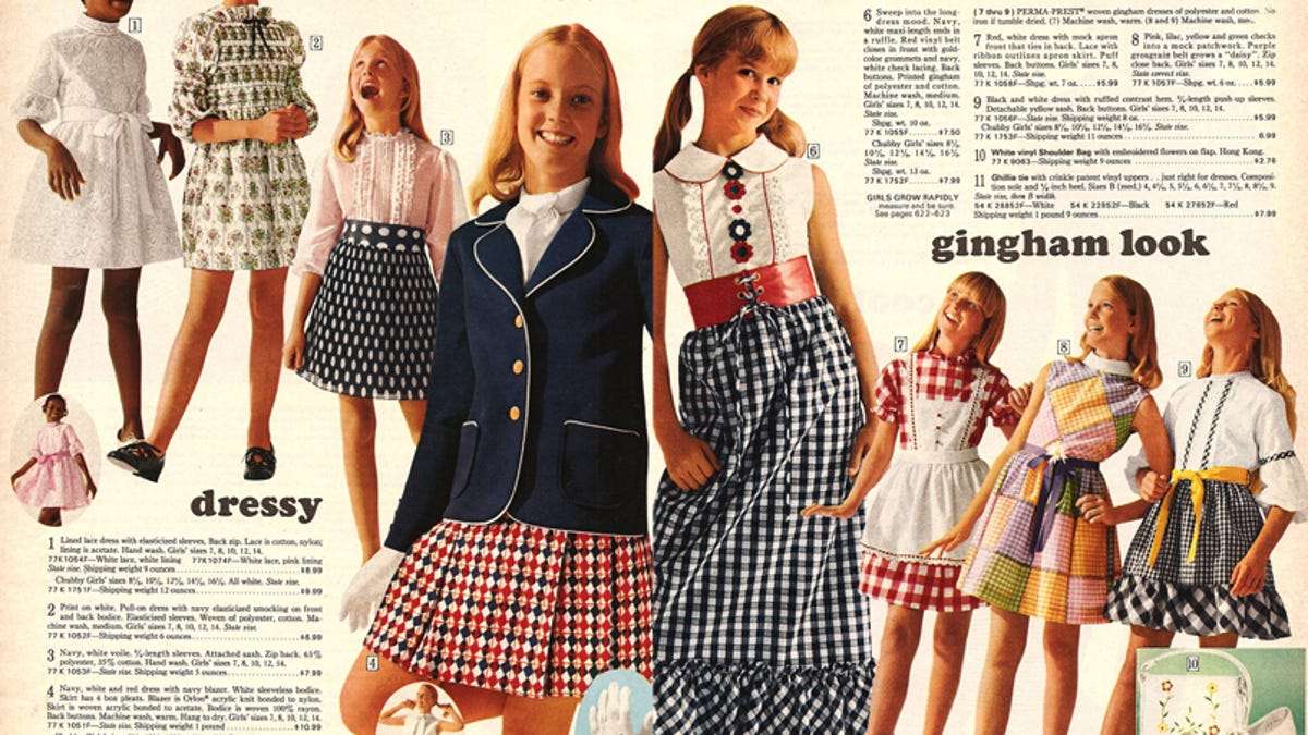 1edfd88fad The Best Sears Kids' Fashions For Spring… Of 1972