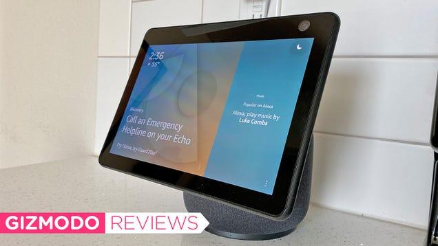 Amazon s Motion-Tracking Smart Display Is Kinda Creepy, but Damn Is It Useful