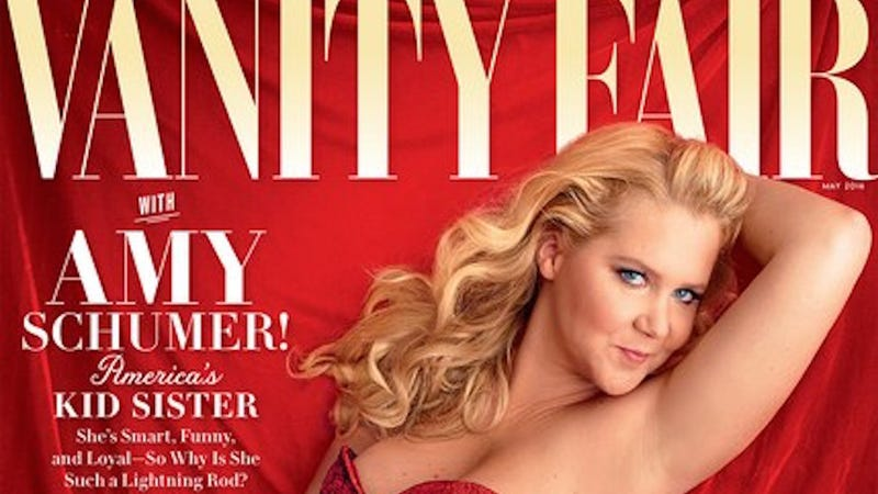 Illustration for article titled Amy Schumer on Trainwreck Shooting: 'I Was Just Like, I Wish I Never Wrote That Movie'
