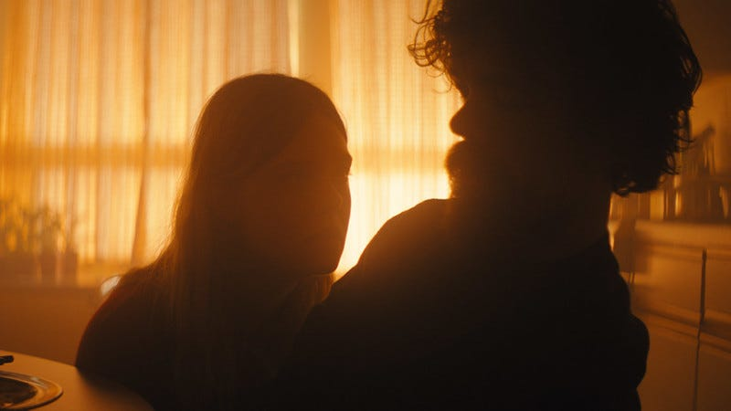 Elle Fanning and Peter Dinklage