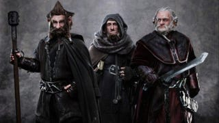 Illustration for article titled First look at Dori, Nori and Ori from The Hobbit set