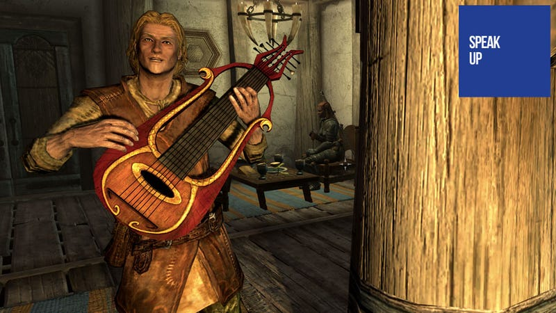 Illustration for article titled This May Be Skyrim's Most Glaring Omission