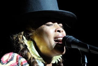 Soul and R&B Singer Erykah Badu