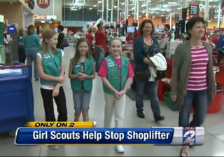 Illustration for article titled Texas Girl Scouts Use Power of Thin Mints to Defeat Evil Shoplifters