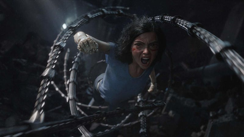 Some of the stuff in Alita: Battle Angel had us screaming like this.