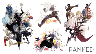 Illustration for article titled Final Fantasy Characters, Ranked