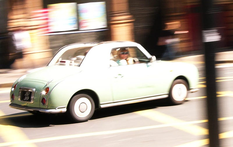 Illustration for article titled The Nissan Figaro Treads Fine Line Between Retro and Cool