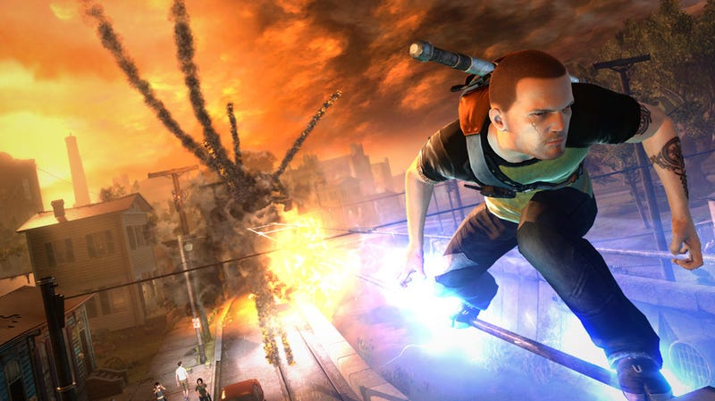 Illustration for article titled Infamous 2 Will Have, In Theory, An Infinite Number of Levels Thanks To You