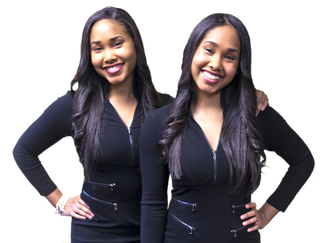 Kristie and Kirstie Bronner, now 24, served as co-valedictorians at Spelman College in 2013.Courtesy of Kirstie and Kristie Bronner