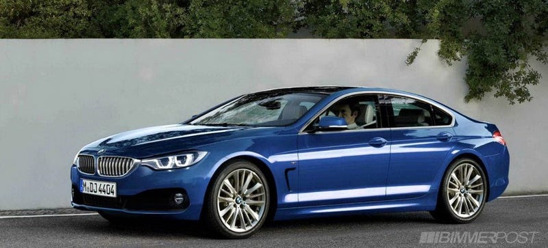Illustration for article titled BMW 4 Series gran coupe price guide
