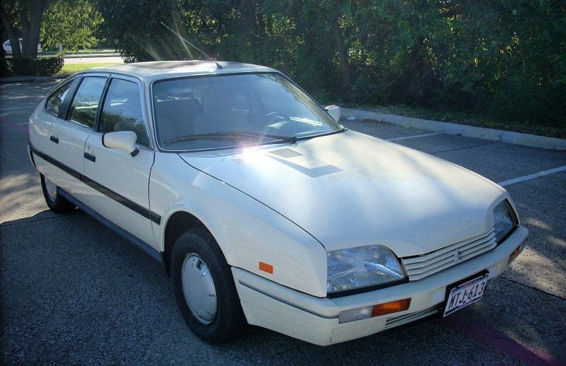 Illustration for article titled For $6,250, This 1988 Citroën CX 2200 TRS Could Be Your One Shade of Grey (Market)