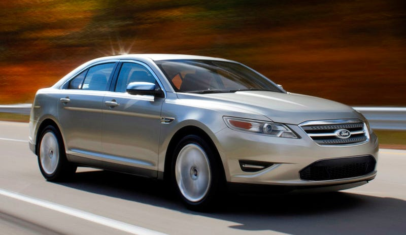 Illustration for article titled 2010 Ford Taurus: More Hot, Less Bull