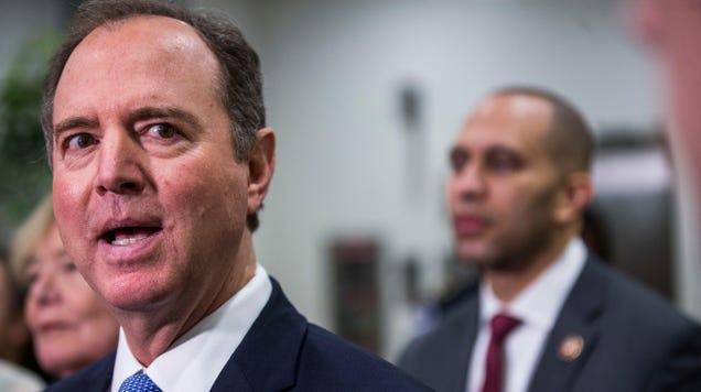 Adam Schiff Accused of Protecting a Suspected FBI Surveillance Dragnet