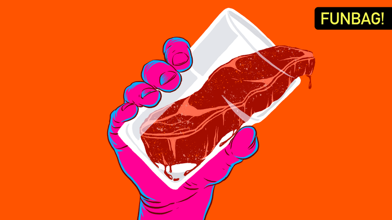 Illustration for article titled Can You Eat A Full Meal Without Drinking Any Liquid?