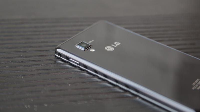 Illustration for article titled LG Optimus G product shots